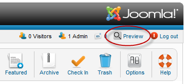 Better Preview for Joomla