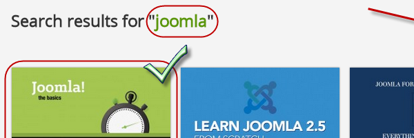 Joomla 3 - The Basics - is number one at Udemy!