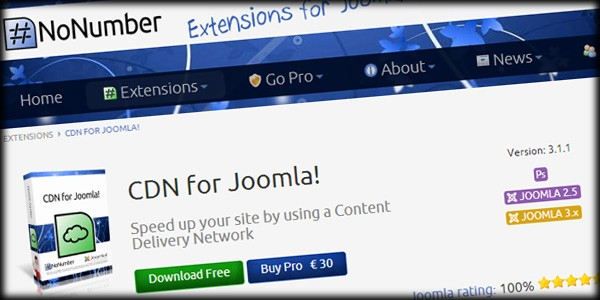 CDN for Joomla Makes Content Delivery a Snap