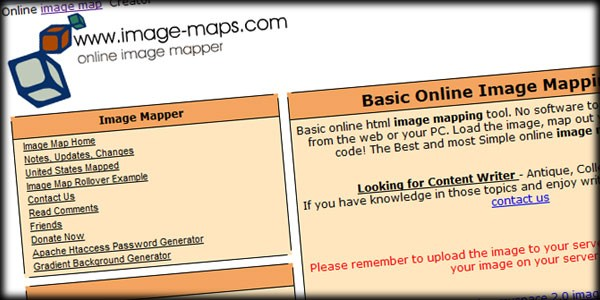 Going Old School with Image Maps in Joomla