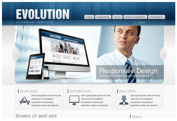 Joomla51 Goes Responsive with Evolution