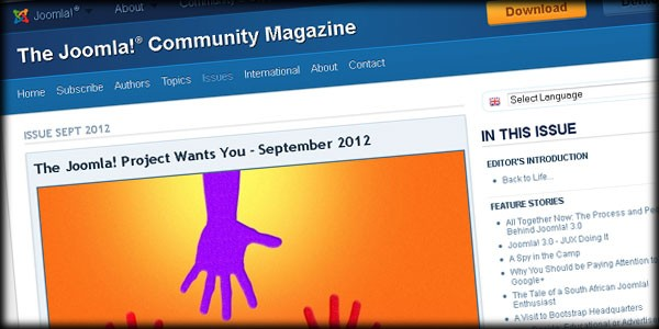 September Issue of Joomla! Community Magazine is Out Now