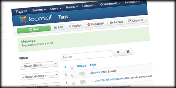 Joomla 3.1 Beta is Released - and We Have Tags!