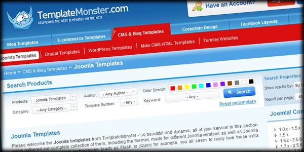 Free Joomla Template Contest From Templatemonster Com And