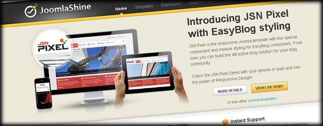 Recommended Joomla Templates - Build a Joomla Website