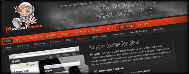Recommended Joomla Templates - Build a Joomla Website