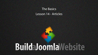 14 - Joomla Articles